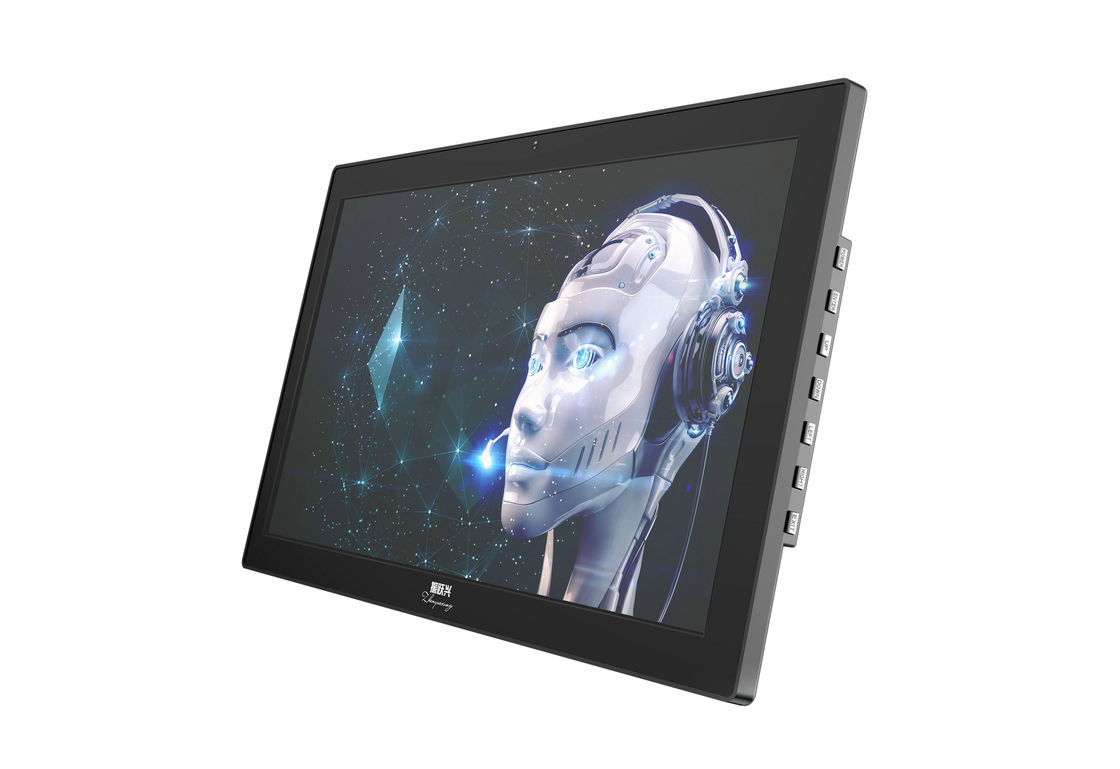 ABS Plastic High Resolution Digital Picture Frame 19.5 Inch Full HD 80°-89° Visual Angle