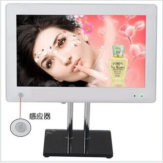 H.264 / AVI / MPEG1 Audio Motion Sensor Digital Photo Frame With Music
