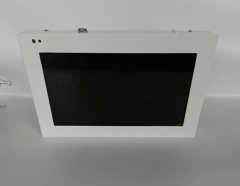 10 Inch HDMI Video Library / Supermarket Digital Signage With Metal Case